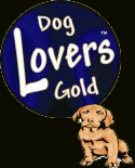 Dog Lovers Gold logo
